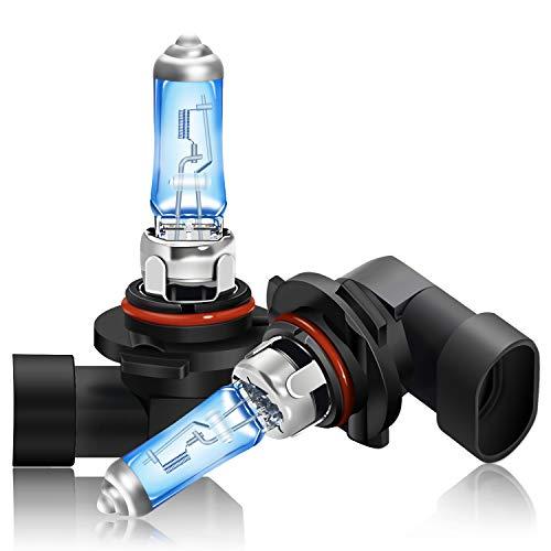 DZG Kit di sostituzione lampadine alogene H10 per fendinebbia 42W 5000K Lampada bianca calda super brillante 12V Auto, 2 pezzi
