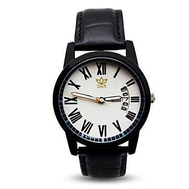 Fenkoo Männer Quarzuhren Freizeitmode Legierung wasserdichte Uhren