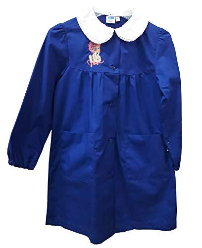 siggi Grembiule Scuola Elementare Bambina 33GR3281 Bluette 6-7-8-9-10-11-12-13-14-15 Anni (TG 90 ANNI 11/ALT. CM 146)