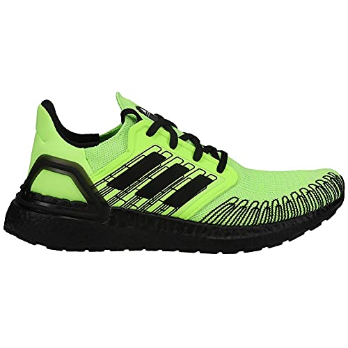 adidas Mens Ultra Boost 20 Running Sneakers Shoes - Black,Green - Size 9.5 M