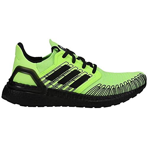 Adidas Ultraboost 20 - Zapatillas de hombre, (Verde/Core Negro/Blanco), 46 EU