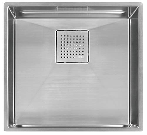 Franke PKX11018 Peak 16-Inch x 17-Inch Single Bowl Undermount Kitchen Sink
