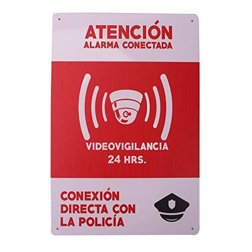 MARQUISE & LOREAN Carteles Alarmas Zonas Videovigilada Placas VideoVigilancia Seguridad Protegemos TÚ Casa Resistentes Aquí te lo DEMUESTRO (1)