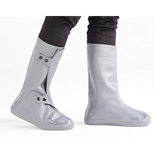 HS-XP 1 Par De Zapatos De La Cubierta, Fundas Impermeables Reutilizables De PVC De Arranque para El Lugar De Trabajo Museo Interior De...
