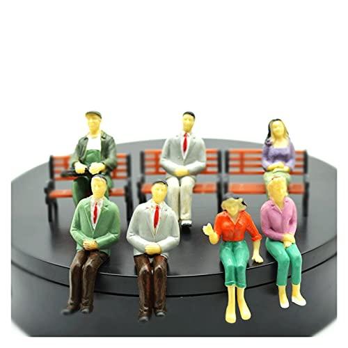Pequeña gente 1/25 ARQUITECTURA ARQUITECTURA PERSONA DE LA ARQUITECTURA MODELO MODELO MODELO PAISAJE A LA ESCALA PINTADA Figura Pasajero Plastic Diorama Caracteres Personajes humanos en miniatura