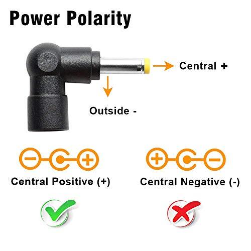 POWSEED 45W Universal AC Power Adapter DC 5V 6V 7.5V 9V 12V 13.5V 15V for Household Electronics Routers CCTV IP Cameras Speaker USB Hub Tablet LED Strips, Multi Voltage Charger Supply Cord 1a - 3a
