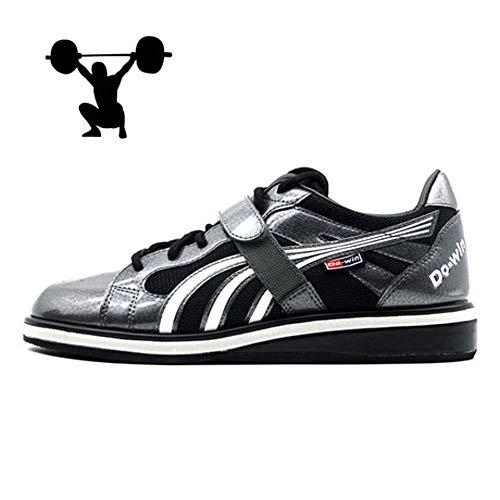 AIALTS Mannen En Vrouwen Squat Gewichtheffen Schoenen, Wear-Resistant Anti-Slip Balance Indoor Competitie Training Speciale Sportschoenen