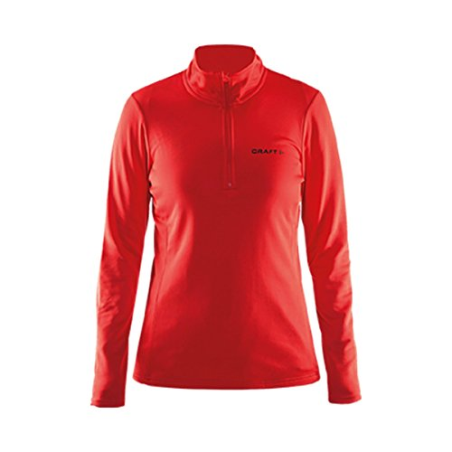 Craft Swift Zip W Damen Skipullover Skirolli 1904605-1430 Red - Damen XL