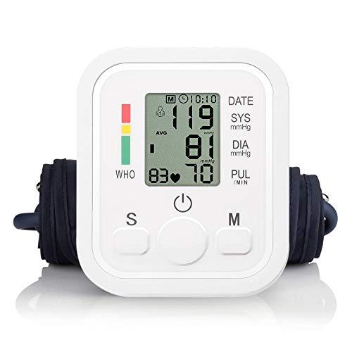 arbuio Vollautomatisches Haushaltsarmband Typ Digitales elektronisches Blutdruckmessgerät Mini-Größe Leichtes tragbares Blutdruckmessgerät-mit Sprachübertragung