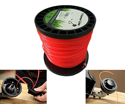 Topolenashop - Hilo para desbrozadora corta hierba redonda 3 mm bobina de 100 metros