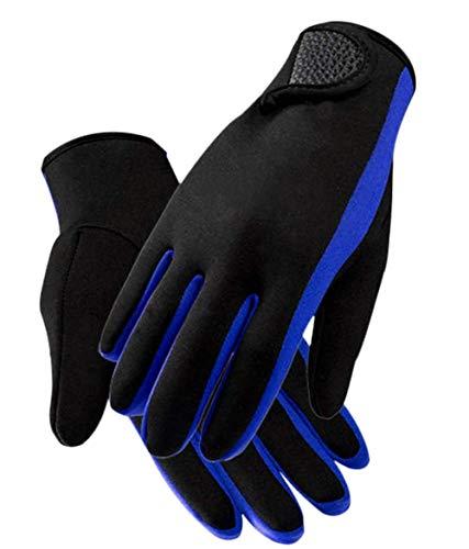 YJZQ Guantes de neopreno elásticos para buceo de 1,5 mm, guantes de buceo de agua, guantes para natación, kayak, remo, vela, surf, deportes acuáticos, guantes térmicos para hombres y mujeres