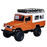ZHWDD MN40 4 Roues motrices 2.4G RC Voiture Escalade Camion Hors Route, 01h12 télécommande Hors Route modèle de Voiture, Bricolage Modified RC Voiture Enfants Boy Toy Cadeau électrique hefeide