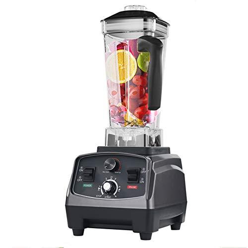 Multifunctionele Blender, Intelligent Smoothie Machine met Timer-functie 2L grote capaciteit ontwerp, roestvrijstalen mes Silent Operation gemakkelijk schoon te maken Koken Machine