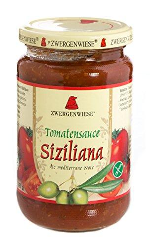 Zwergenwiese Tomatensauce Siziliana, 350 g
