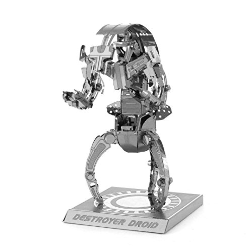 Fascinations Metal Earth MMS255 - 502650, Star Wars Destroyer Droid, Konstruktionsspielzeug, 2 Metallplatinen, ab 14 Jahren