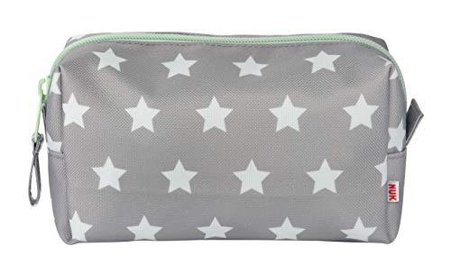 NUK 10256412 Welcome Set, perfekte Erstausstattung für Neugeborene, sieben NUK Produkte in einer schönen Tasche, Weiß/Grau/Mint Neutral - 4