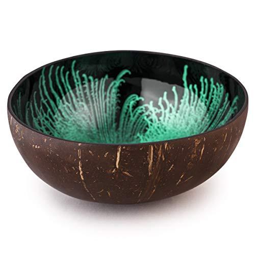 Kaloogo® Cocobowl Splash Kokosnuss Schale (Mint)