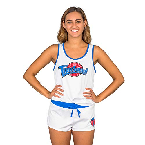 Space Jam Tune Squad Varsity Costume Top and Shorts Set Lola Bunny #10 (Adult Medium) - http://coolthings.us