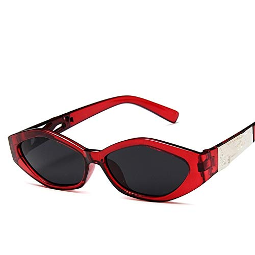 Conductor Gafas Nuevas Gafas de Sol Moda for Mujer Gafas de Sol de Estructura pequeña Ojo de Gato Enfriar Blanca del Marco de Leopardo 3D Negro Amarillo Azul Lente Gafas de Sol polarizadas