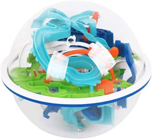 LINANNAN Niños Intelligent Ball 3D Maze Ball Toys Mercury Theme Kids Early Education Toys Maze Game 3D Interactive Maze Ball For Home School