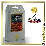 Victini 10/145 Holo Reverse - #myboost X Sole E Luna 2 Gardiani Nascenti - Box di 10 Carte Pokémon Italiane