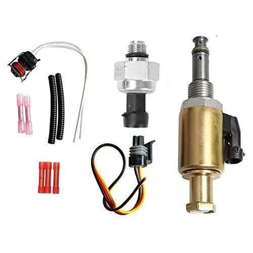 7.3L IPR & ICP Fuel Injection Pressure Regulator Valve Sensor - IPR Valve & ICP Control Sensor w/ Pigtail Compatible with Ford F250 F350 F450 F550 F650 F750 E350 E450 E550 1996-2003 1829856C91
