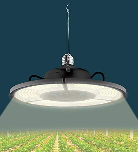 ZJING Plant Lamp LED Full Spectrum Grow Light Black E27 100W 200W 300W 400W LED Growing Box Light E26 Hydroponic LED Bulb Phyto Lamp,400W