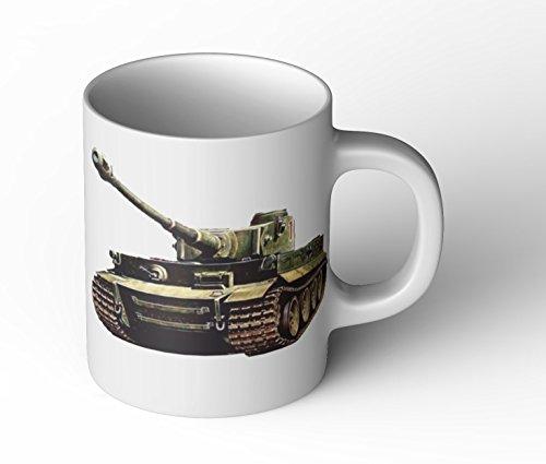 Tiger Panzer Tasse Herrentag V1 Arme Bundeswehr Soldat Geschichte Cup Becher