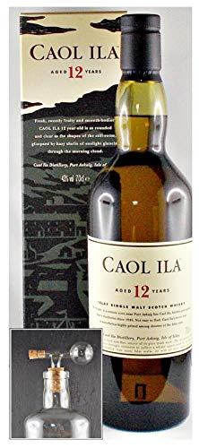 Caol Ila 12 Jahre Islay Single Malt Whisky + Glaskugelportionierer