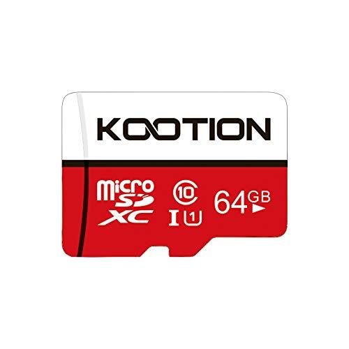 memoria micro sd de 64 gb clase 10 fabricante KOOTION