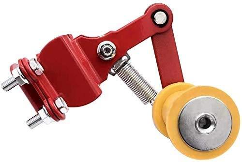 Felicey perfectamente aplicable para Cadena de motocicleta universal ajustador del tensor regulador automático for Y.A.M.A.H.A H0NDA DVCATI APRIL1A Su.zuki bici de la suciedad amarillas + PC 1, Diseño