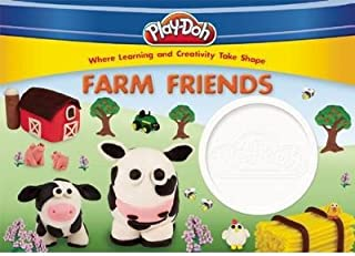 [ Play-Doh Farm Friends [With 1 Container of White Play-Doh] BY Kenna, Kara ( Author ) ] { Hardcover } 2014