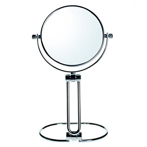 HIMRY Compacte Make-up Spiegel Opvouwbare, 7x Vergroting, 5