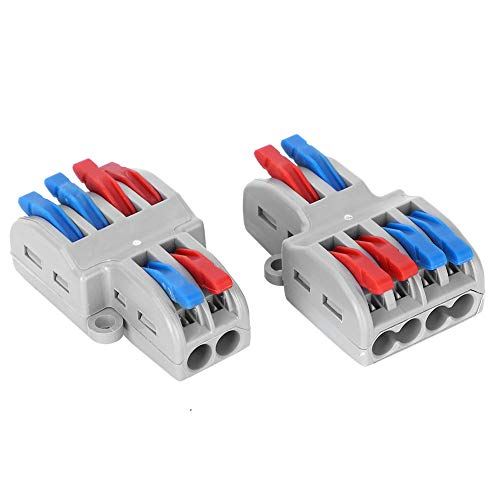 Bloques de terminales de cables eléctricos Conectores de cableado de iluminación de...