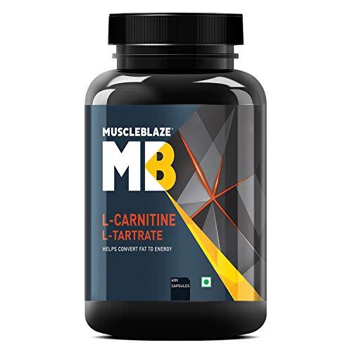 MuscleBlaze L-Carnitine L-Tartrate, (60 Tablets)
