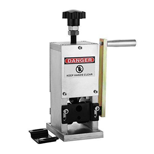 Succebuy Machine à Dénuder Manuel Machine à Dénuder Fil de Câble De 1.5mm ~ 25mm Denudeuse De Cuivre La Pince à Dénuder électrique Machine De Dépouillement De Fil