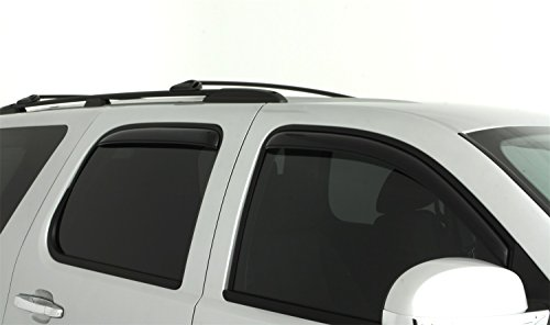 Auto Ventshade 194514 in-Channel Ventvisor Side Window Deflector, 4-Piece Set for 2007-2014 Chevrolet Tahoe/GMC Yukon
