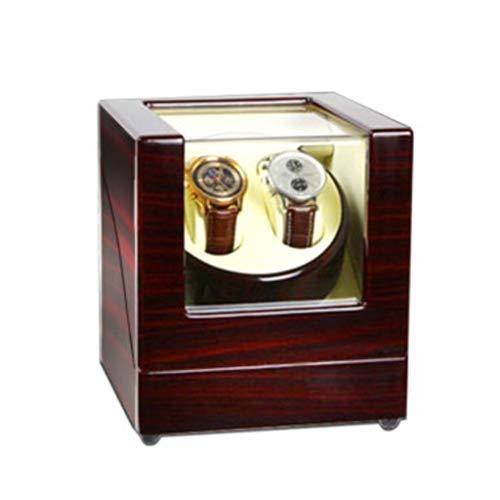 JIAJBG Reloj automático con mecanismo automático y caja de reloj mecánico, reloj mecánico, reloj de mesa de susurro, reloj de torneado de joyería clásica/2+0d