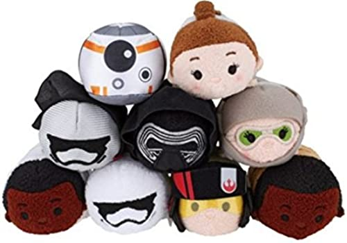 Disney - Star Wars  The Force Awakens Mini ''Tsum Tsum'' Plush Collection set of 9 by Disney