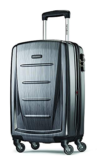 Samsonite Winfield 2 Hardside Expandable Luggage with Spinner Wheels, Charcoal, Carry-On 20-Inch