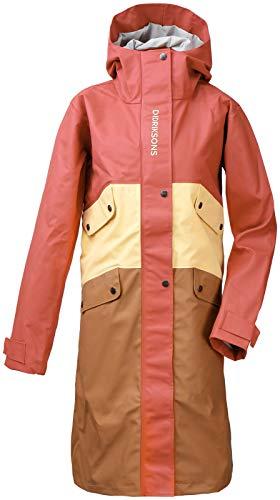 Didriksons Damen Regenjacke Jacke ESTRID WNS JKT Winddicht gestreift (388 Pink Blush, 36)
