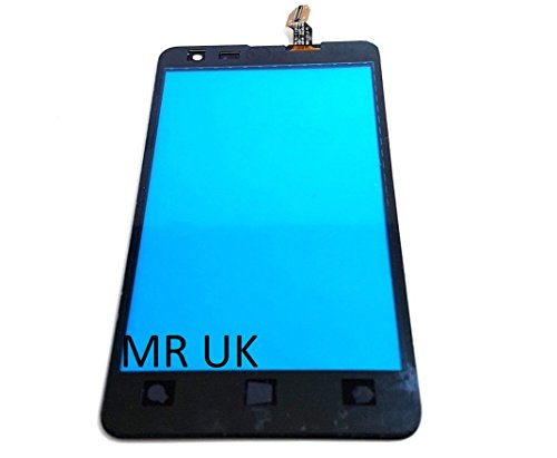 Mobile Rescue UK - Schermo touch screen digitalizzatore frontale in vetro con nastro adesivo per Microsoft Nokia Lumia 625 N625