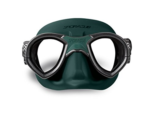 SPORASUB–Mystic Black/Green, grün, schwarz