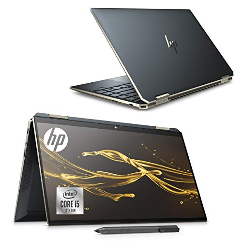 【2019年12月発売】HP ノートパソコン HP Spectre x360 13 インテルCore i5 8GB/256GB SSD 13.3インチ フルHD タッチパネルディスプレイ アクティブペン標準添付 WPS Office付き ポセイドンブルー(型番:8WE34PA-AAAA)