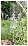 ZHUANQIAN Chimes Viento, Hierro Ángel Retro Viento Spinner Garden Adornos Jardín Al Aire Libre Decoración Chime Wind (Color : B)