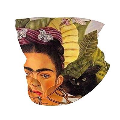 zsxaaasdf Frida-Kahlo Halsmanschette Atmungsaktives