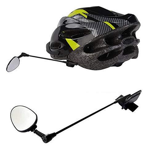 , La visión amplia muy clara bicicletas Espejos, del casco de ciclista...