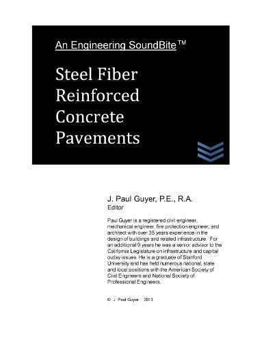 Steel Fiber Reinforced Concrete Pavements (Engineering SoundBites)