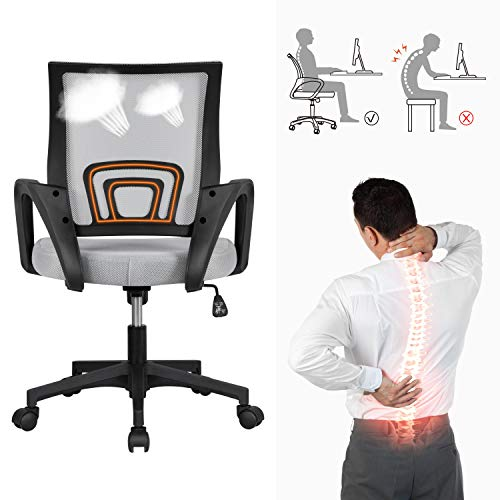 Yaheetech Lumbar Support Office Chair