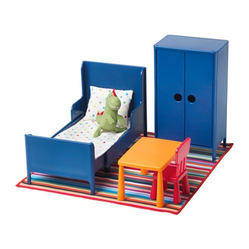 IKEA HUSET Puppenmöbel Schlafzimmer